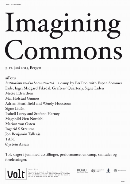 Imagining Commons